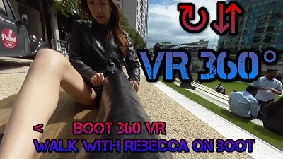 VR-girl-leather-gloves-leather-boots-leather-jacket-leather-pants-barefoot