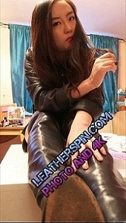 chinese-girl-in-leather-boots